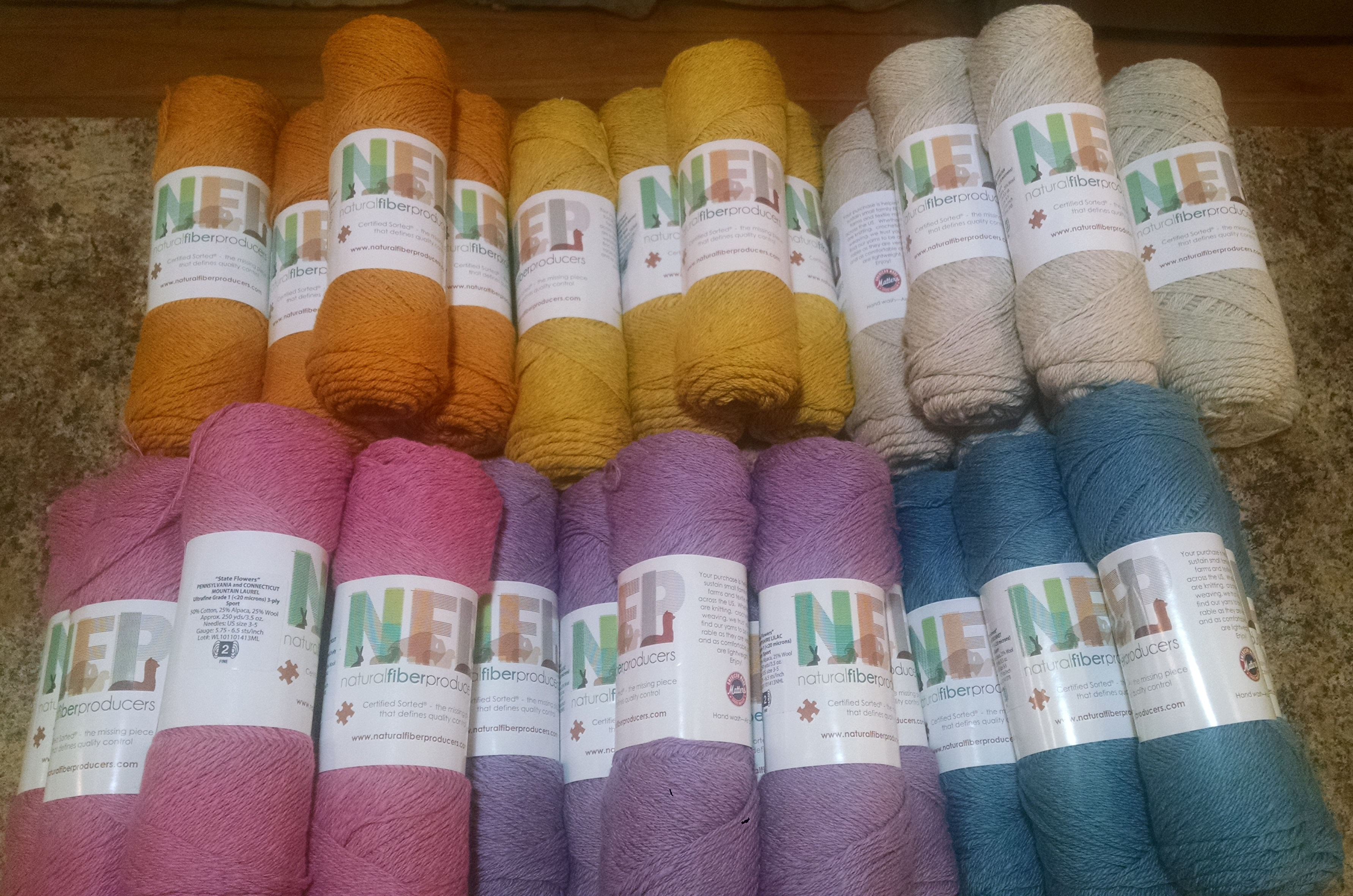 Sport Weight Ultra Fine Cotton / Alpaca / Wool blend  - Skeins